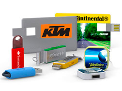 image of usb flash devices for small business promotionals